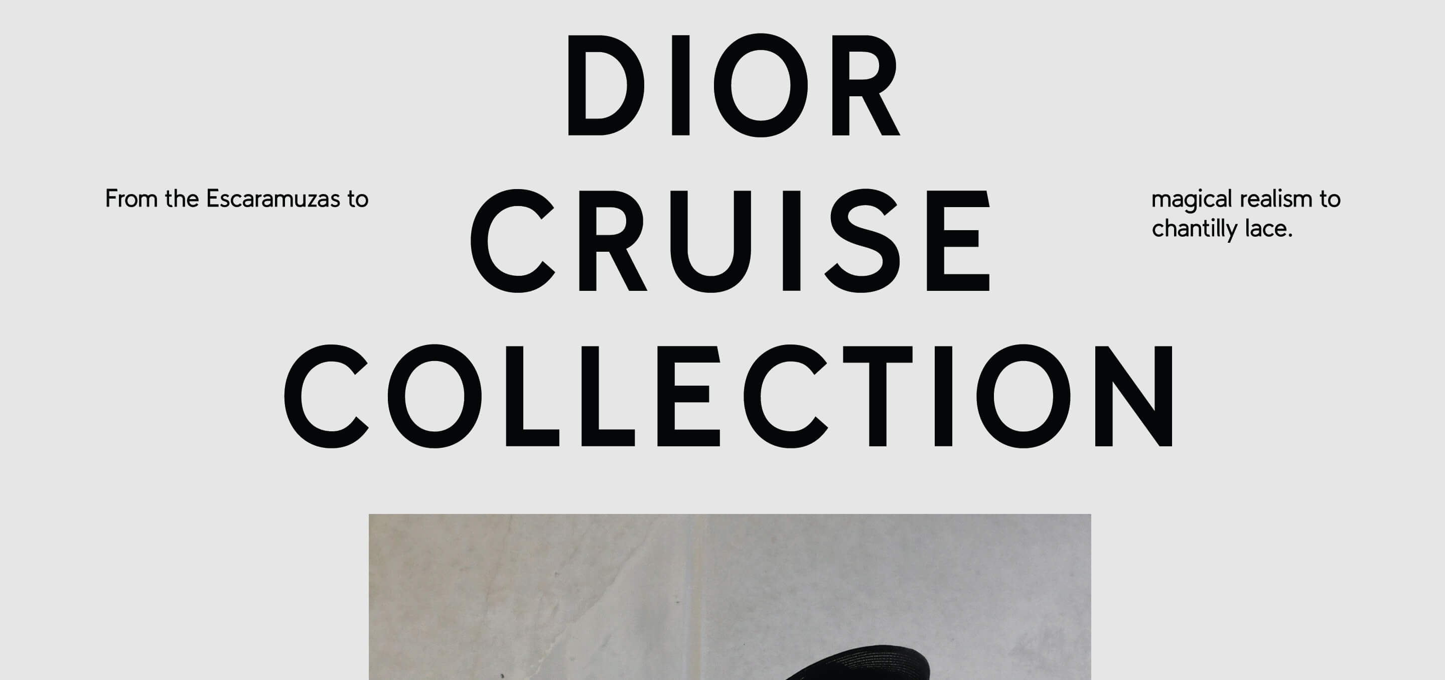 Dior Cruise Collection II